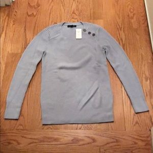 NWT Banana Republic Pale Blue Sweater